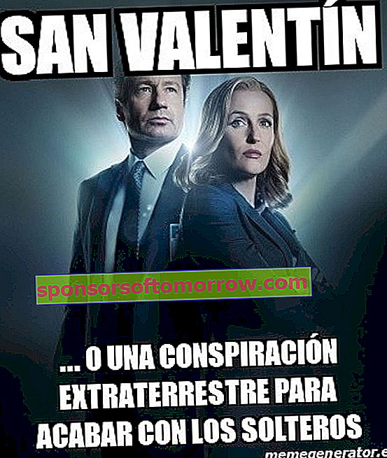 Meme X Files San Valentin