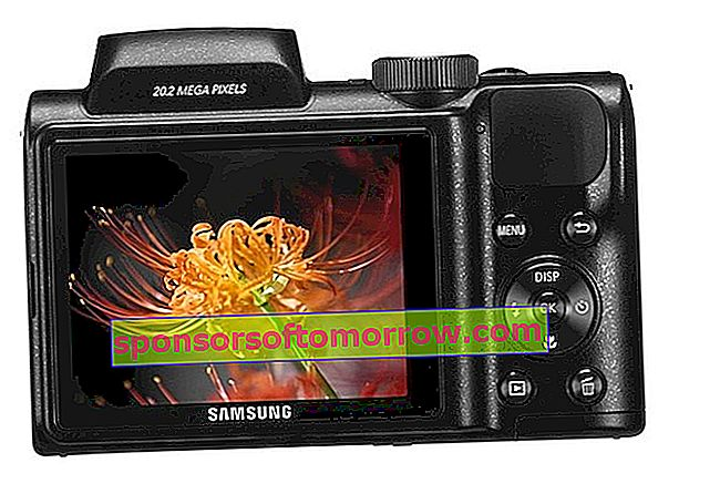New Samsung WB110, compact camera with optical zoom x26 2