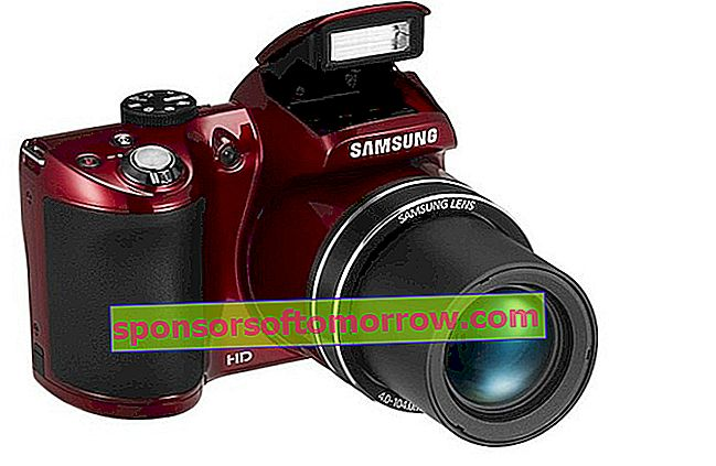 New Samsung WB110, compact camera with optical zoom x26 1