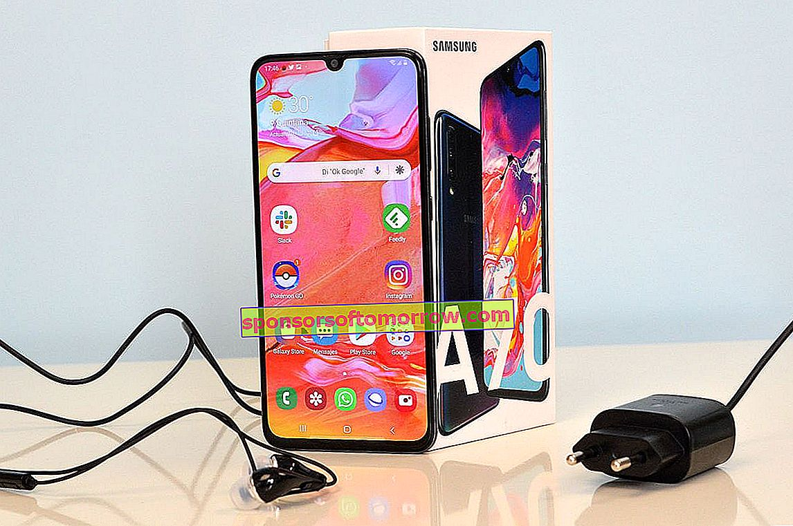 review Samsung Galaxy A70