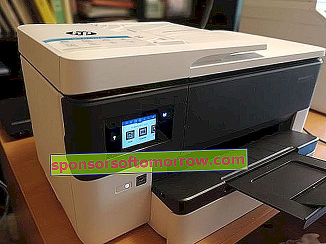 HP OfficeJet Pro 7720 Side