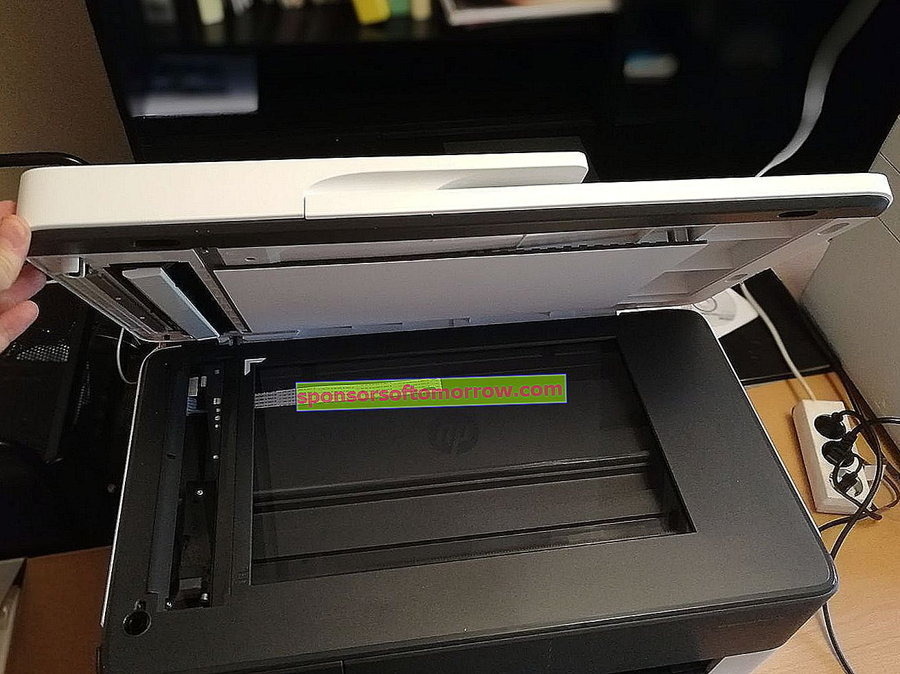 HP OfficeJet Pro 7720 scanner unit