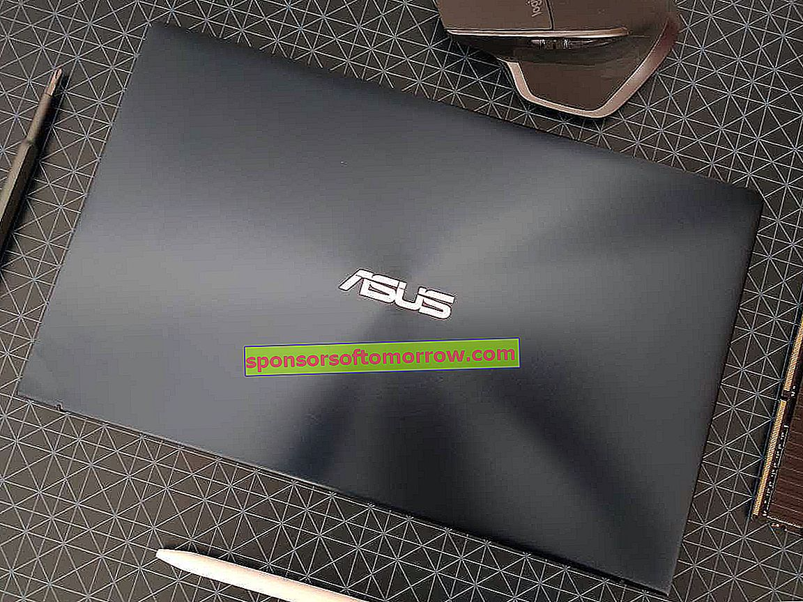 Asus ZenBook 14 UX433;  review of a stylish and compact notebook