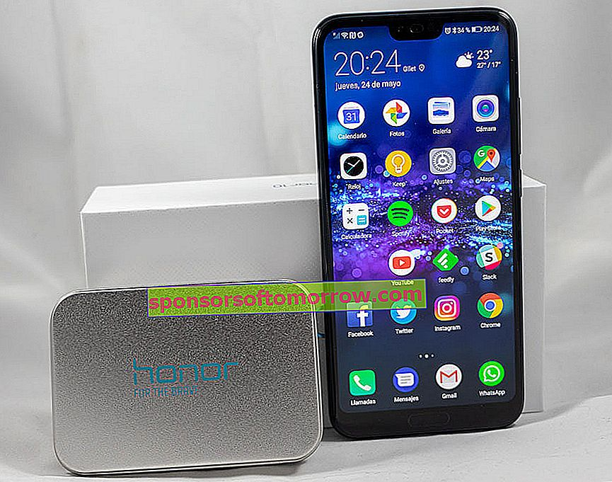 we have tested Honor 10 metal end