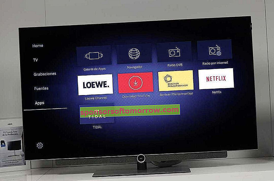 Loewe Bild 3.55, we tested the most affordable German OLED with improved functions