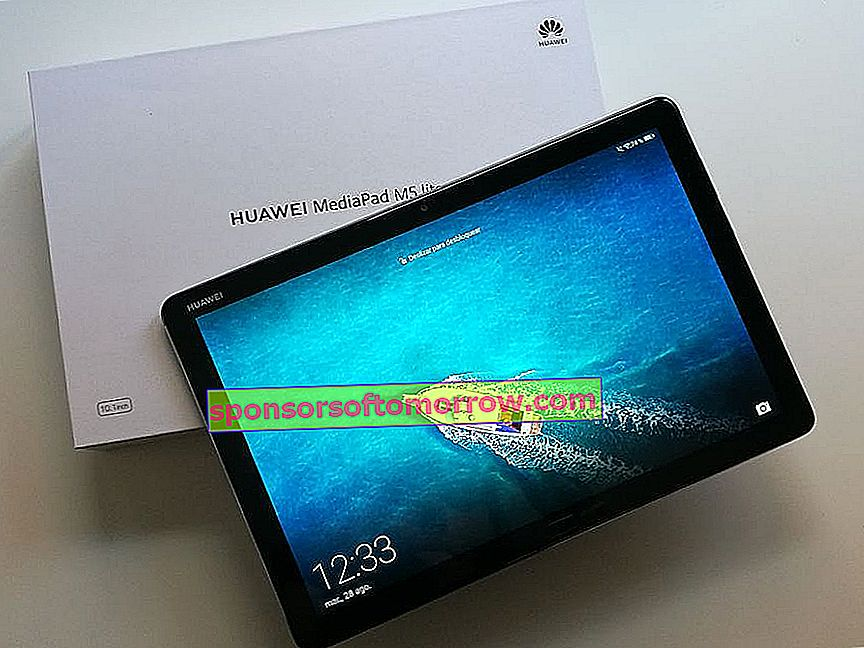 Huawei MediaPad M5 Lite 10, we have tested it