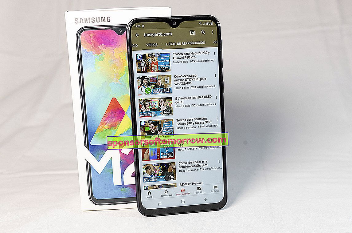 we have tested Samsung Galaxy M20 final