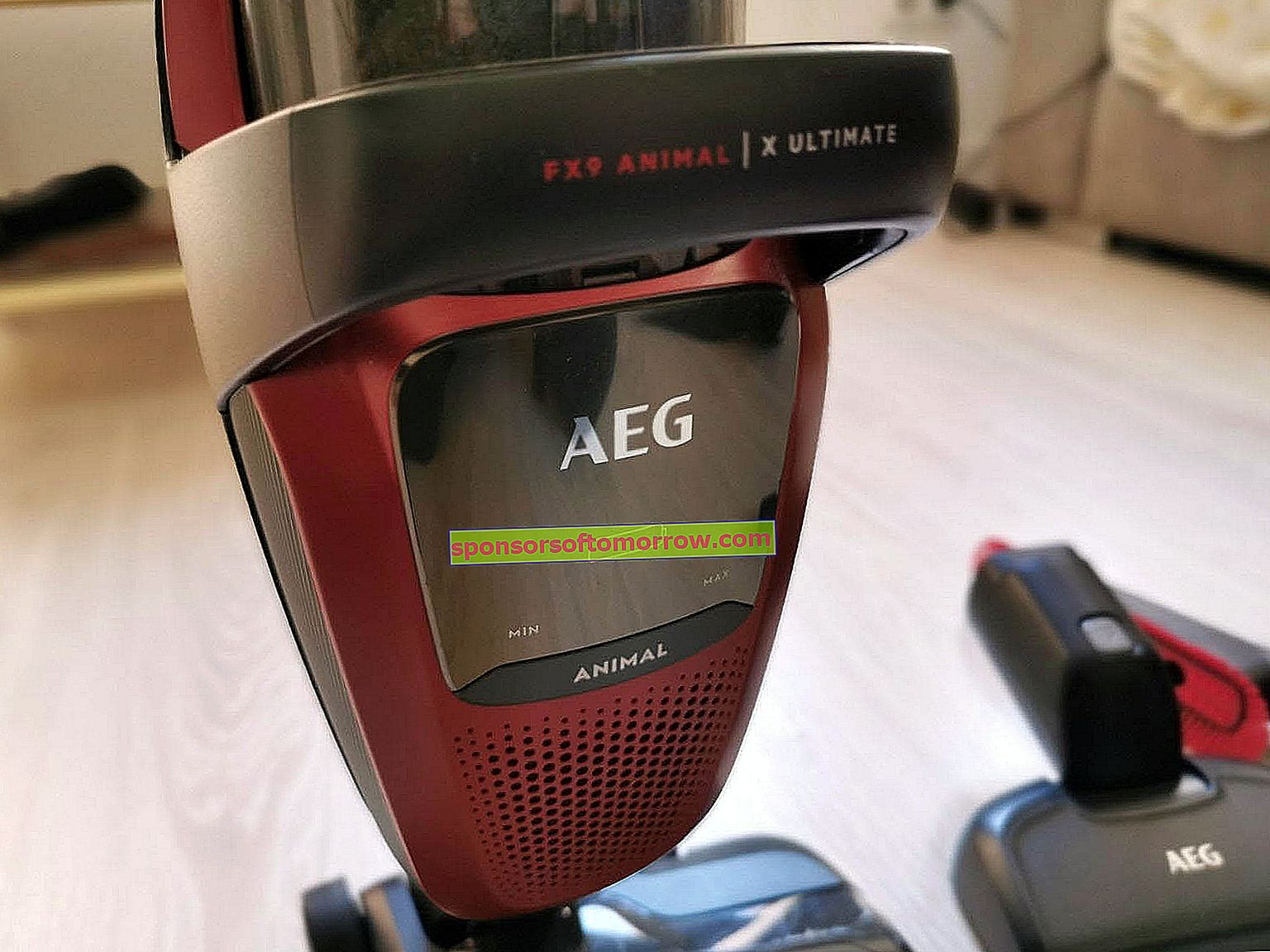 AEG FX9 vist with accessory