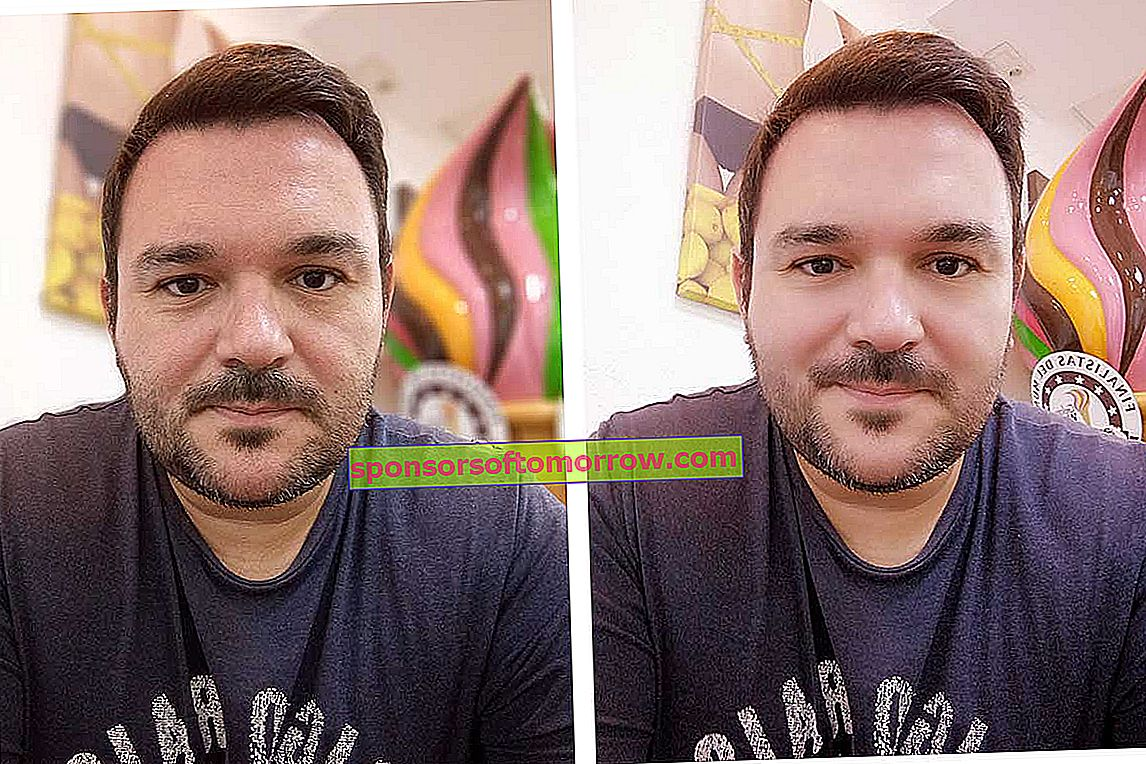 We have tested Motorola Moto E6 Plus photo portrait and beauty front camera