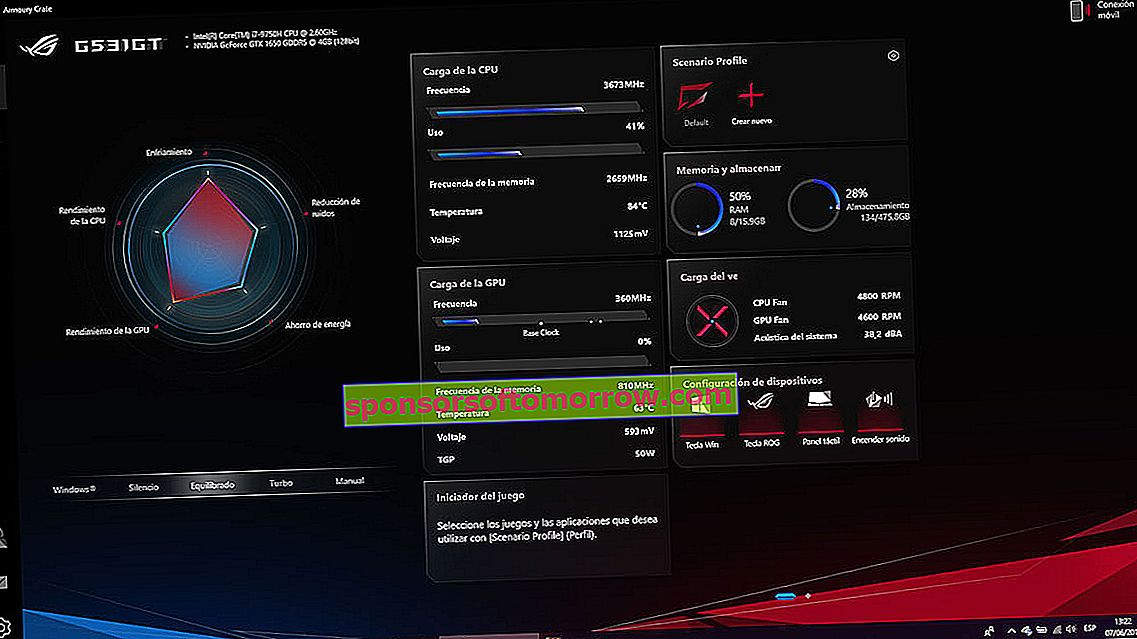 we have tested ASUS ROG Strix G temperatures