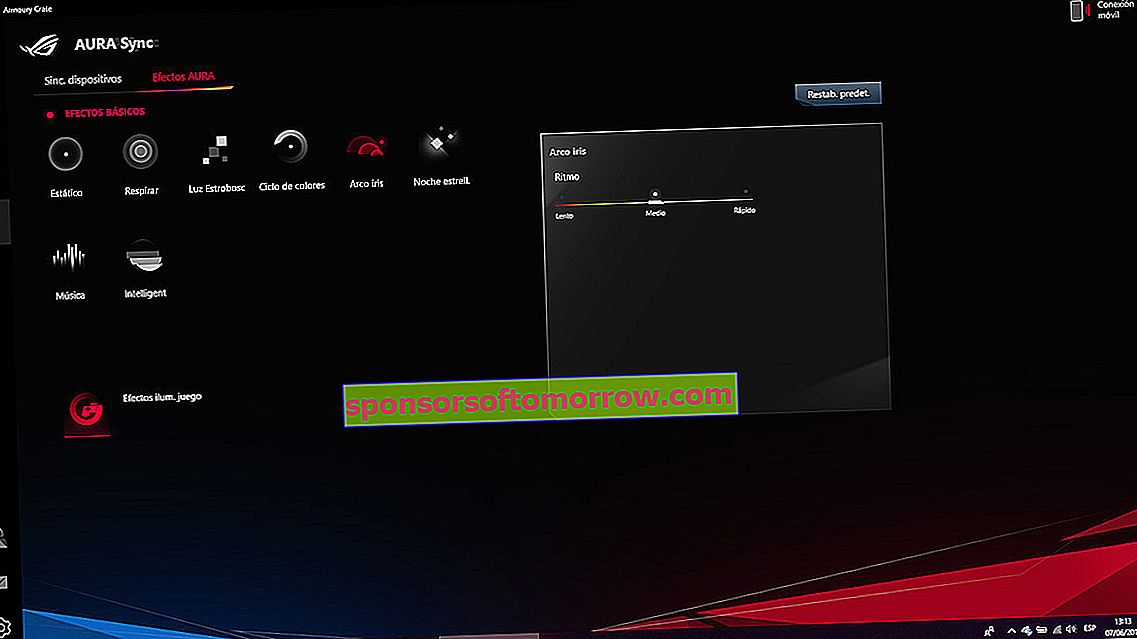 we have tested ASUS ROG Strix G lighting modes