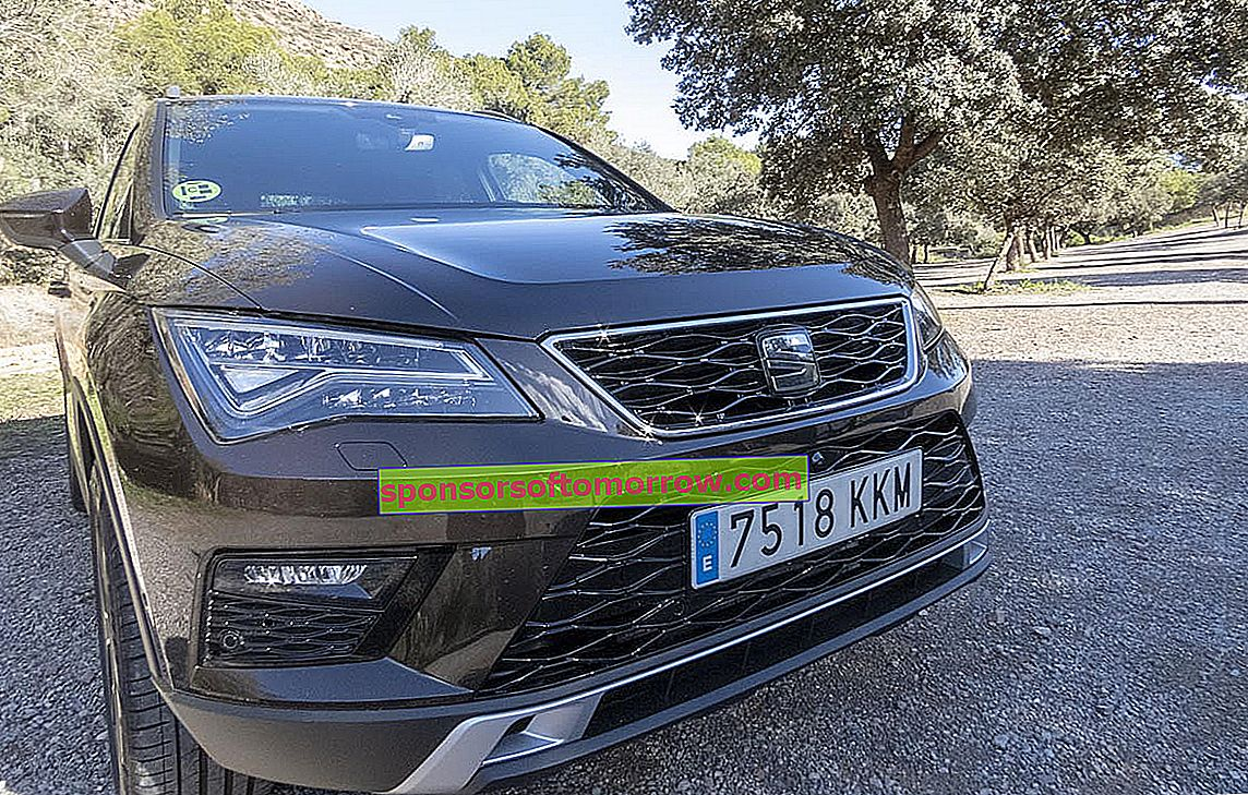 Seat Ateca front technology test