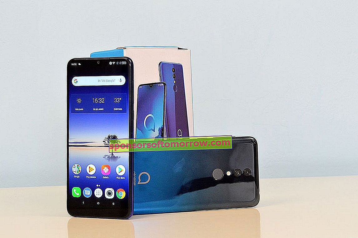 The 5 keys of the Alcatel 3 of 2019