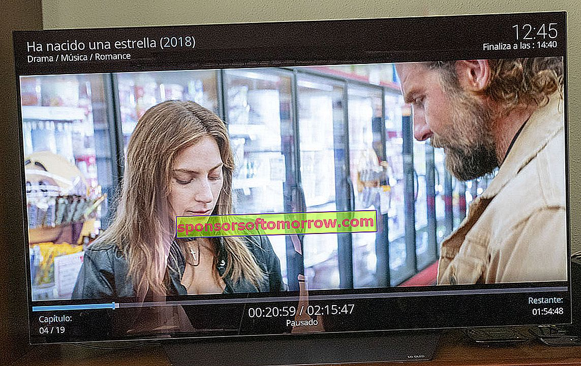 we have tested LG OLED B8 FHD image