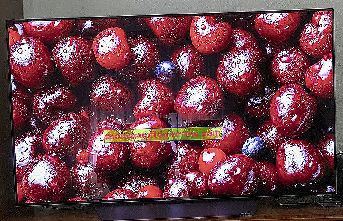 we have tested LG OLED B8 picture cherries