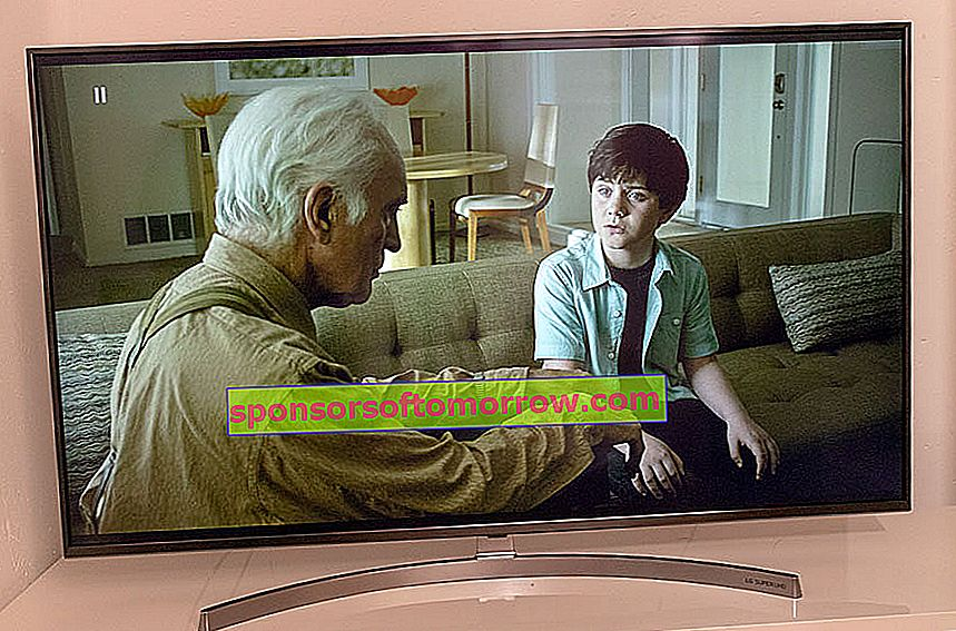 we have tested LG 55SK8100 4K HDR grandpa