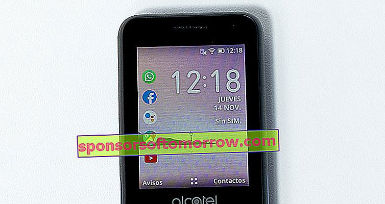 we have tested Alcatel 3088 screen detail