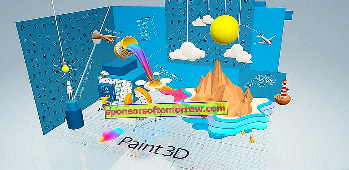 5 basic tricks to start using Paint 3D