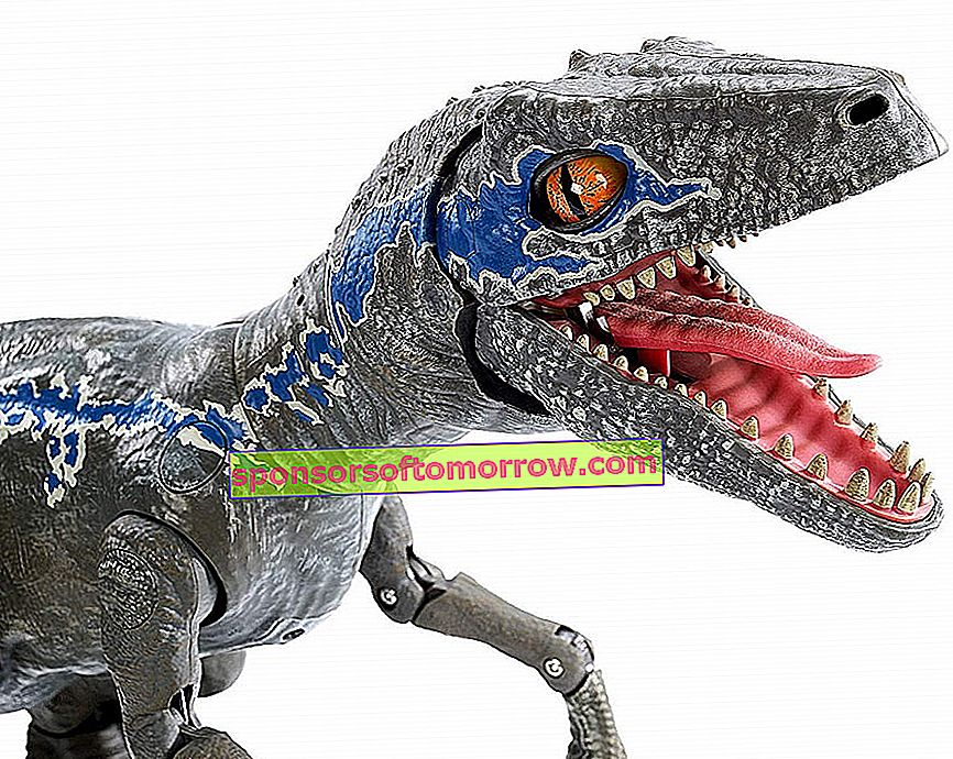 This is the new dinosaur robot that Mattel has created
