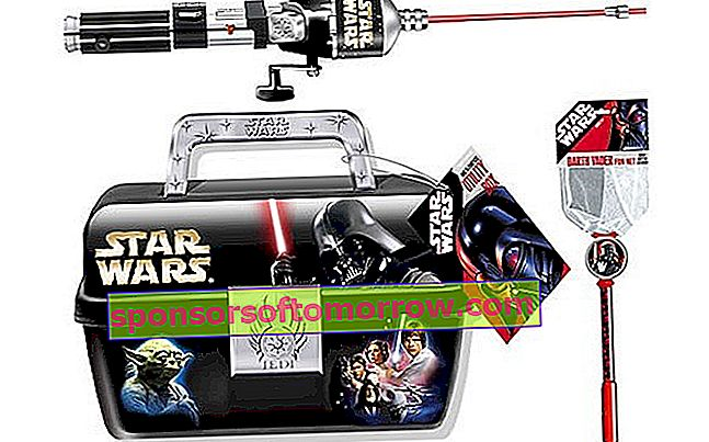 star wars fishing kit