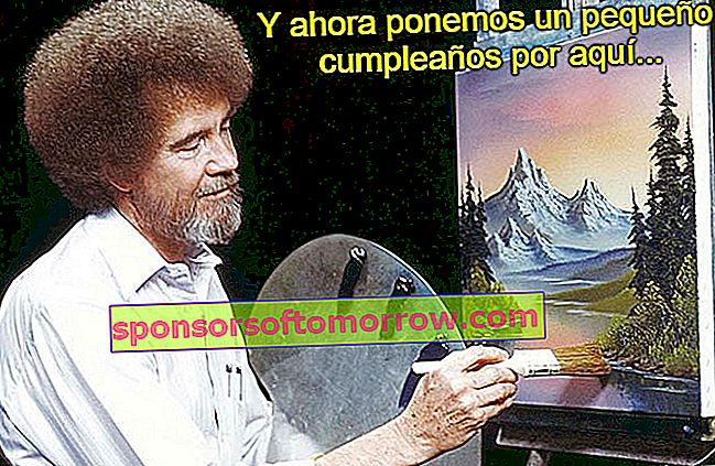 45th Birthday Bob Ross Meme