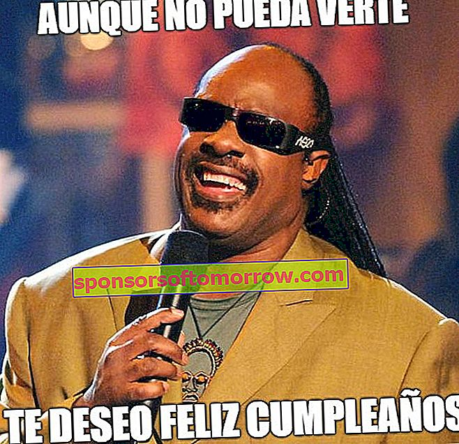 Stevie Wonder meme birthday birthday WhatsApp Facebook
