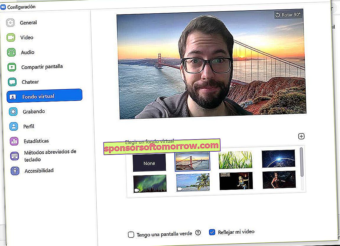 How to put funny videos and backgrounds in your Zoom video calls