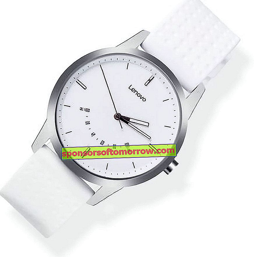 launch Lenovo Watch 9 white