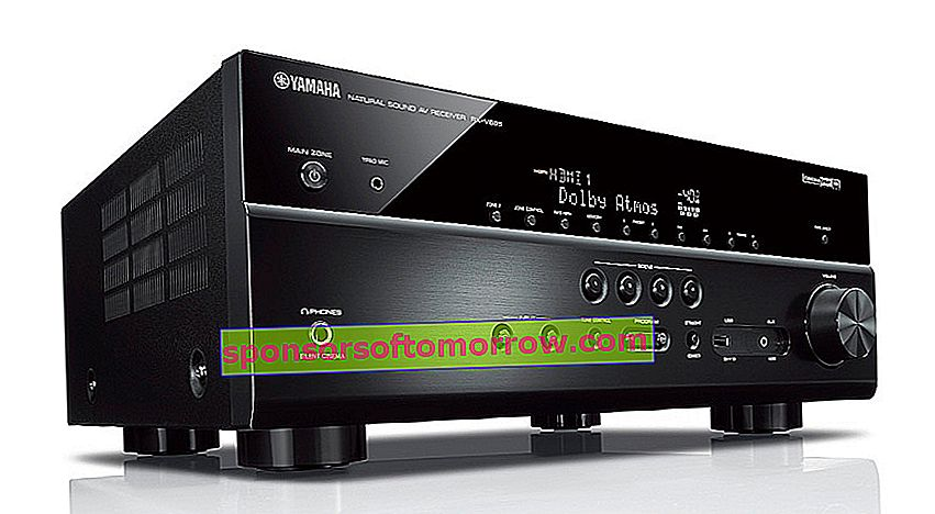 Yamaha RX-V685, AV receiver with 7.2 channels and two HDMI outputs