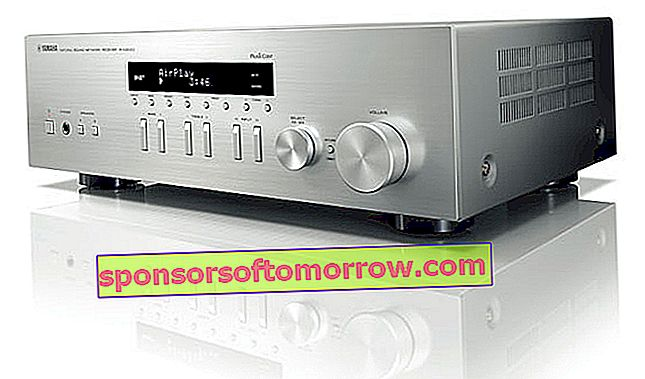 Yamaha R-N303D, stereo receiver with MusicCast and network functions