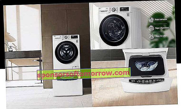 everything you need to know about LG TWINWash double drum smart washers