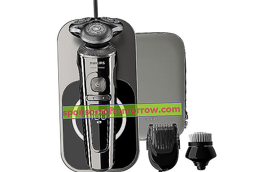 Philips S9000 Prestige, 3-speed precision electric shaver