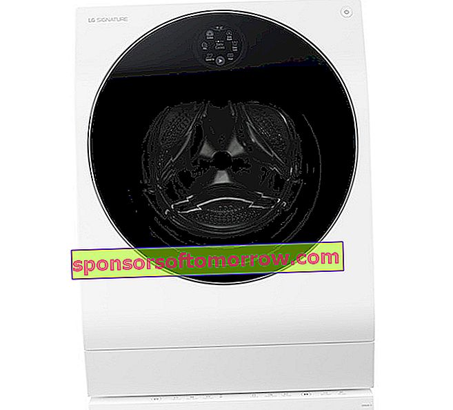 LG Signature Twin Wash, a washer-dryer that does two laundry at the same time