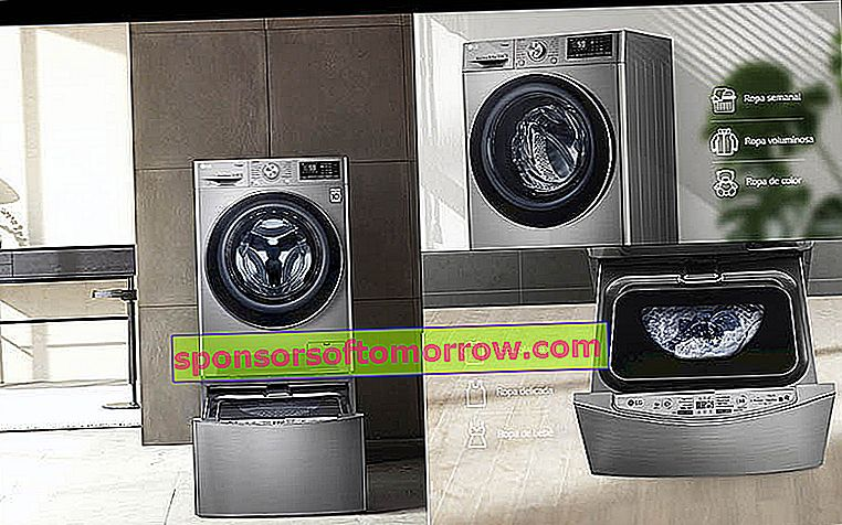 The best features of LG TWINWash smart washing machines