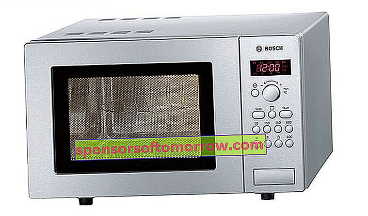 5 microwave with grill if you don't have space for an oven in the Bosch kitchen