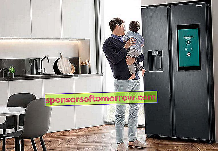 the key features of Samsung Family Hub connected fridges called