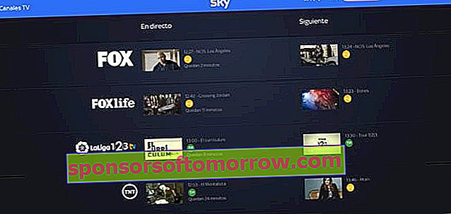 live channels sky