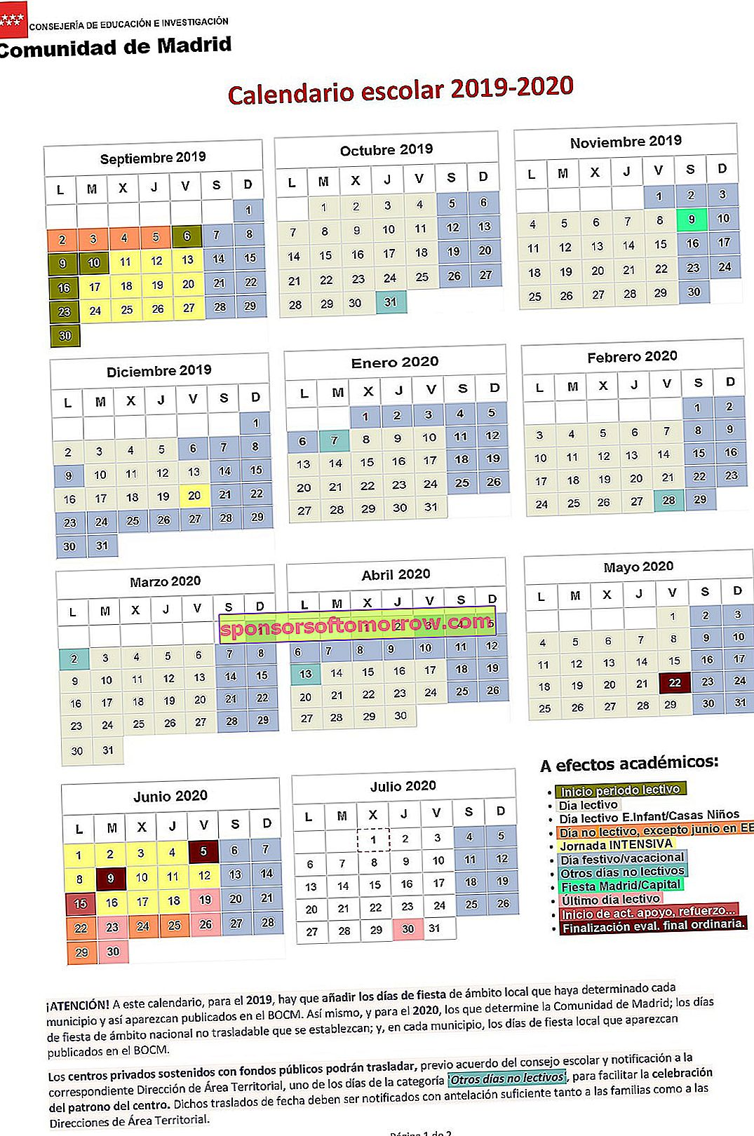 calendar-community-madrid