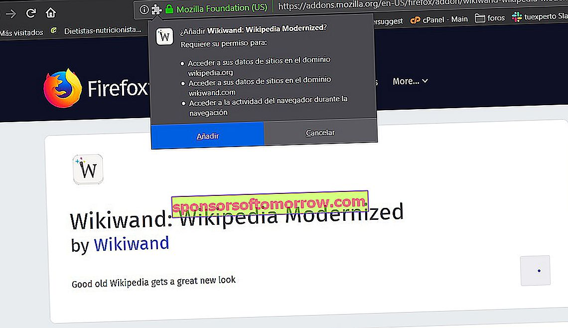 Installez Wikipedia Reader Wikiwand 2