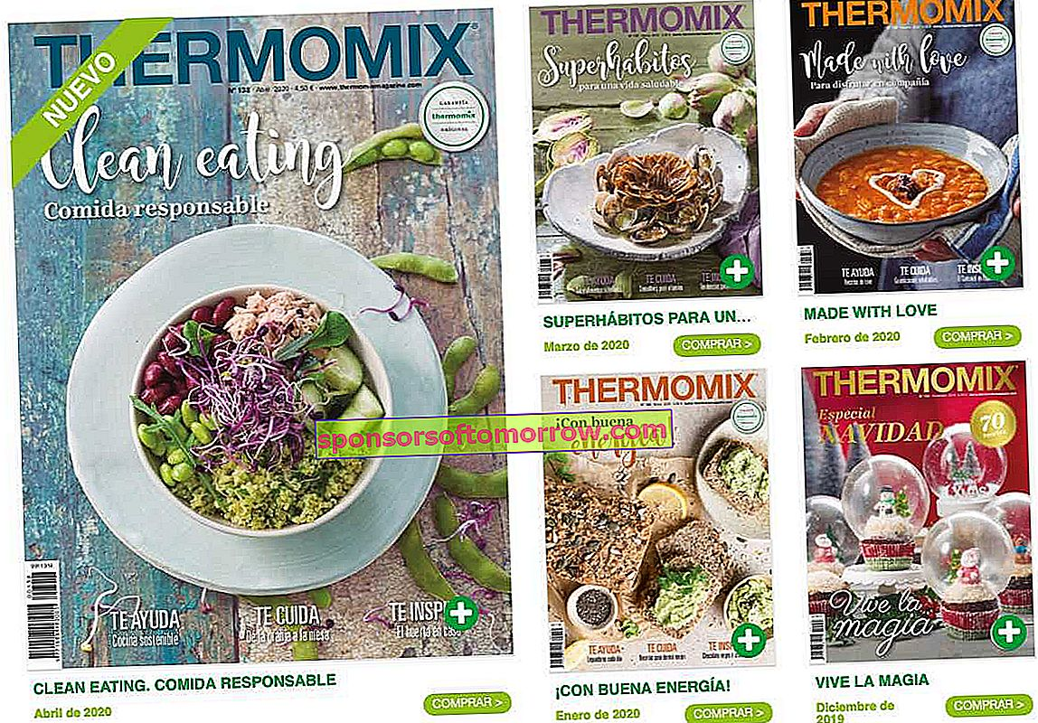 Revistas gratis thermomix