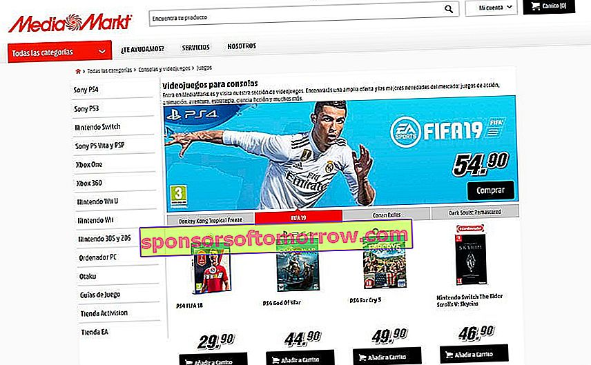 5 online stores to buy video games at a good price MediaMarkt