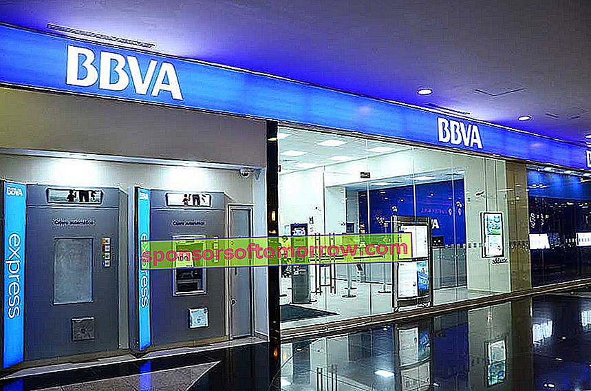 BBVA suffers a fall and does not allow trading from its website or its applications