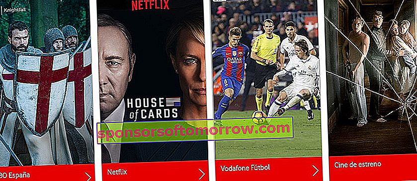 Users with Vodafone Online TV will be able to watch it outside of Spain 1
