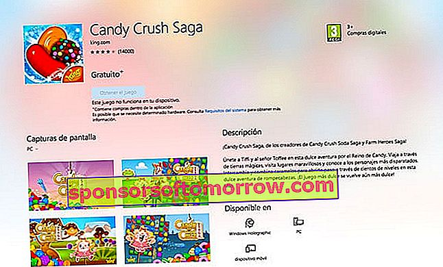 конфета crush saga компьютер windows