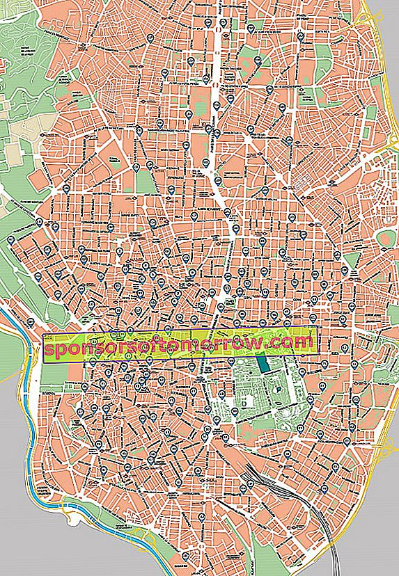 bike madrid maps