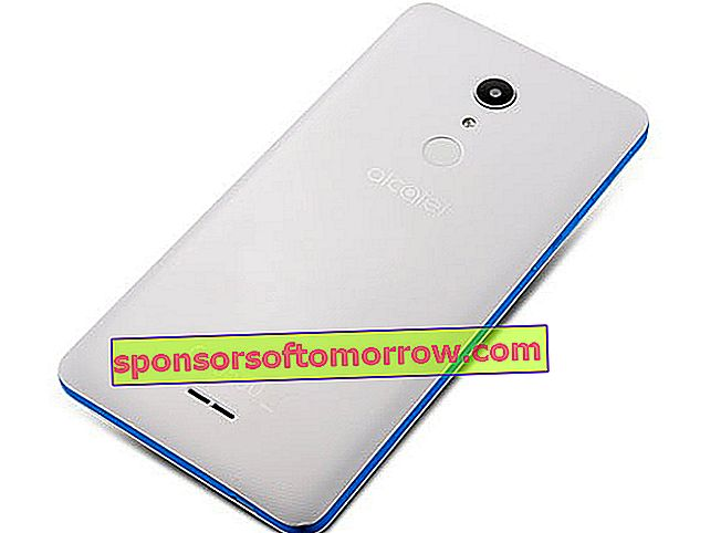 alcatel a3 xl white rear