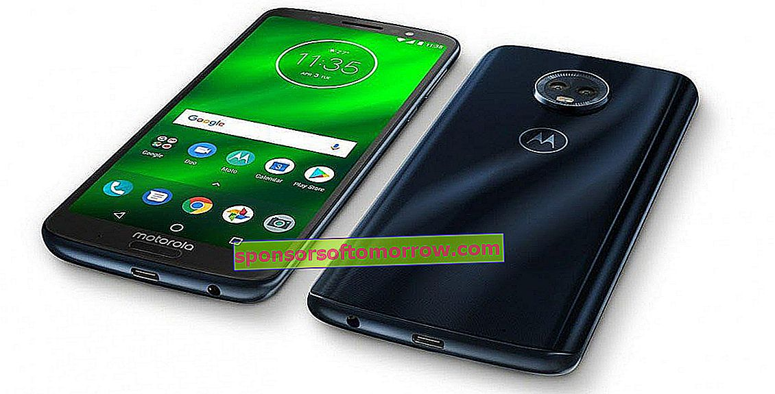 Moto G6 Plus design