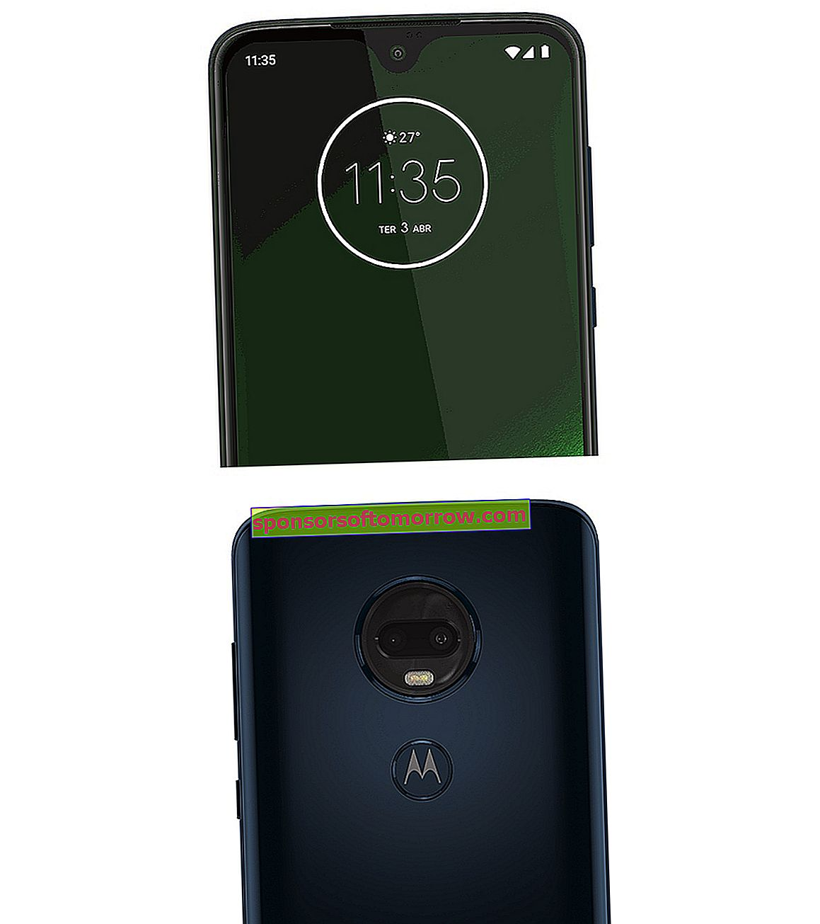Moto G7 Plus power