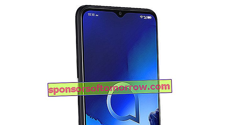 official Alcatel 3X 2019 front camera