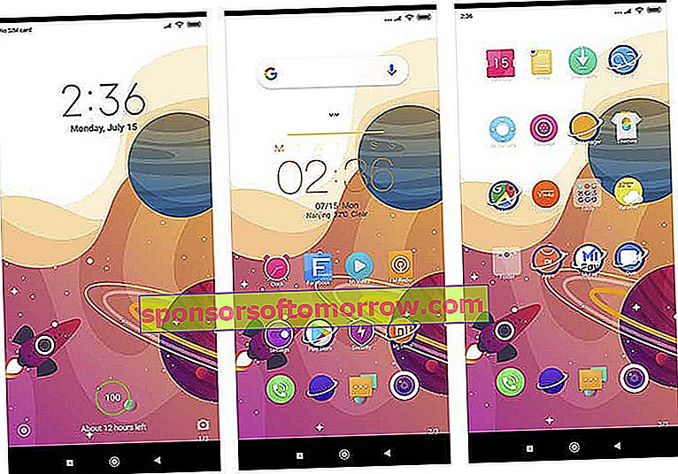 10 attractive themes to change the look of your Xiaomi color mobile